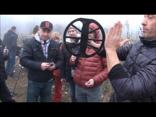 Minelab Equinox 800 first field tests in Bulgaria