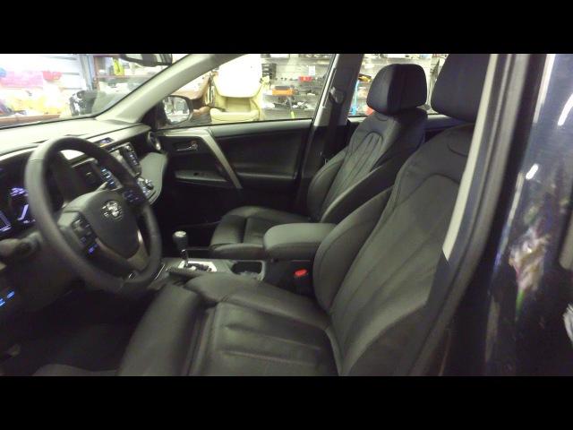 Комфортные сиденья BMW на Toyota RAV4