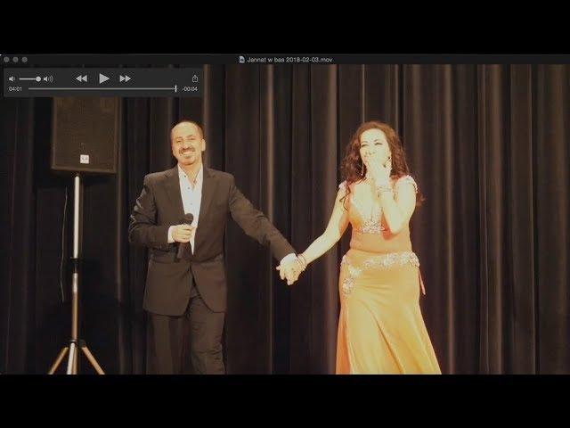 Jannat and Zaher Assaf @ On the Silk Road show - Zurich, Feb 2018