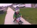 STRIDER Bikes Rule! Cam Takes On The Neighborhood - Canada