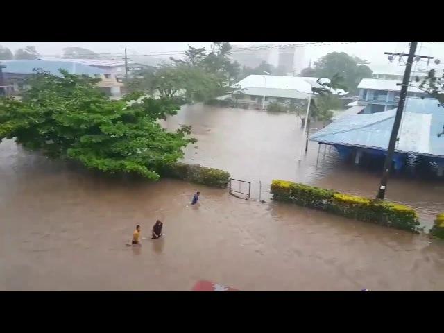 Cyclone Gita in Samoa