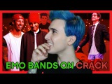 REACTING TO EMO BANDS ON CRACK 28!