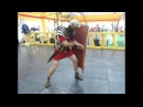 Roman fencing - 1. Fighting position. LEG.IX.HISP. Римское фехтование - 1. Боевая стойка.