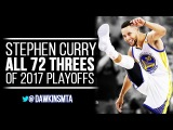 Stephen Curry ALL 72 Three-Pointers in 2017 Playoffs, CHEAT-CODE Steph!