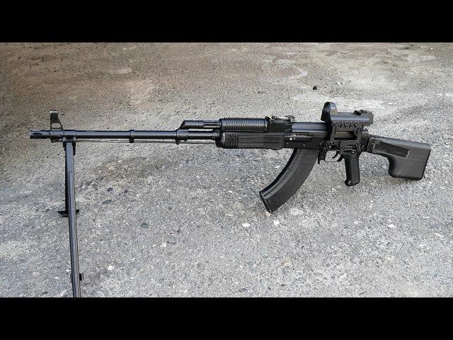 7,62-мм ручной пулемет Калашникова модернизированный РПК-203 (Индекс ГРАУ — 6П8М). Фотообзор.