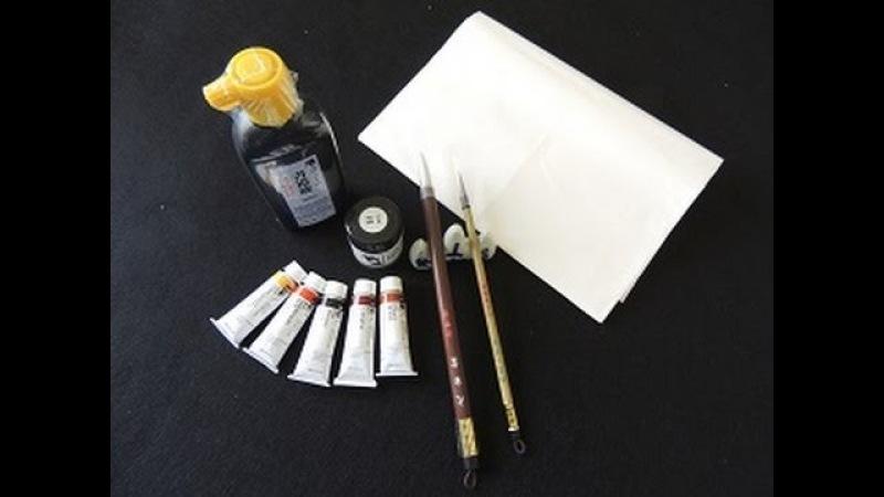 Chinese Brush Painting Basic Supplies