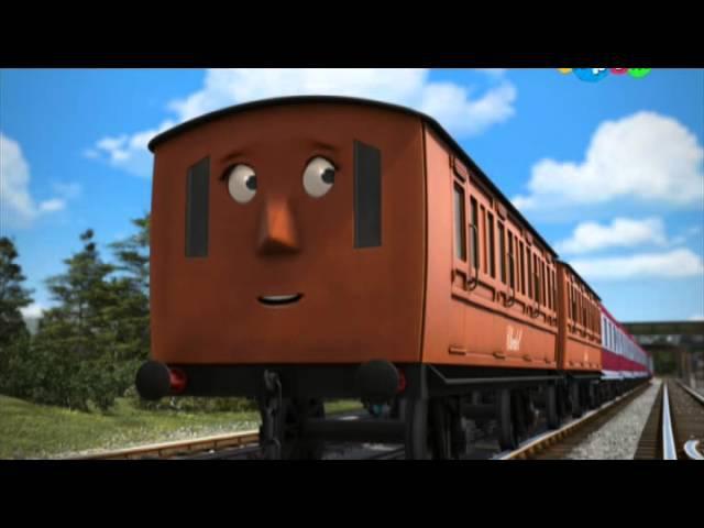 Томас и его друзья Быстра езда Энни и Кларабель S18E02