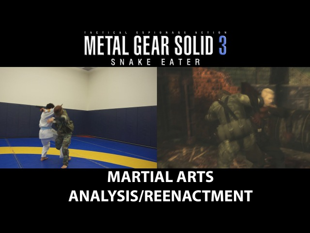 Metal Gear Solid 3: Snake Eater / Osoto Otoshi variant CQC throwing technique analysis