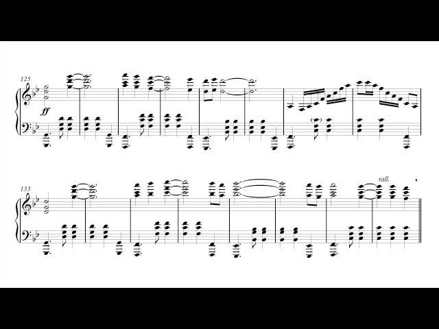 Final Fantasy XV Piano Collections - Valse di Fantastica (transcription)