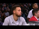 Stephen Curry's Reaction to LeBron's Amazing Layup February 18 2018 2018 NBA All Star Game