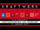 Kraftwerk - Der Katalog 1 - Kunstsammlung NRW/K20, Düsseldorf, 2013-01-11