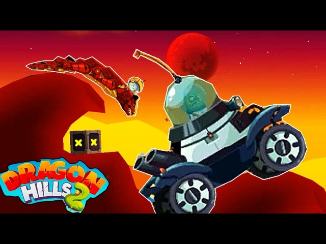 Dragon Hills 2 прохождение УБИВАЕМ БОССА на 16 уровне СМЕШНОЙ МУЛЬТИК про ДРАКОНА ПРОТ...