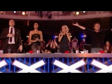 14.y.o Girl Leaving the Judges Open-Mouthed With Her Talented Voice Week 6 BGT 2017