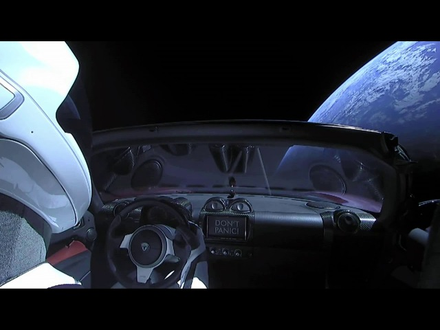 Chris Hadfield - Space oddity [SPACEX Falcon Heavy test]