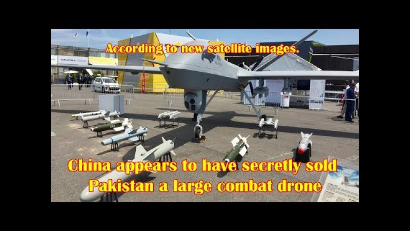 China Appears to Have Secretly Sold Pakistan a Large Combat Drone, Says Report