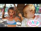 Зара ПОХИЩЕНА! Элис проходит ПАРКУР, чтобы спасти малышку. Детское видео. Baby Zara