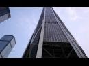 SHENZHEN - Ping An Finance Center Construction in 4K Video