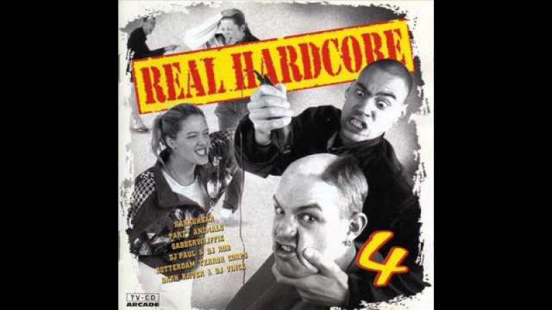 REAL HARDCORE VOL. 4 (IV) - FULL ALBUM 77:45 MIN - (DUTCH GABBER EARLY RAVE HARDCORE TECHNO)