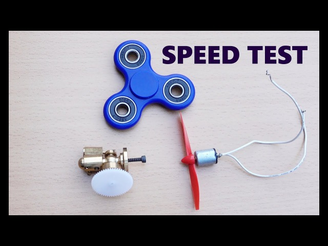 Science experiments with Fidget Spinners, Steam engine and Magnet motor!