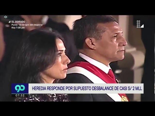 Nadine Heredia: Se presentarán observaciones al peritaje fiscal por contener groseros errores