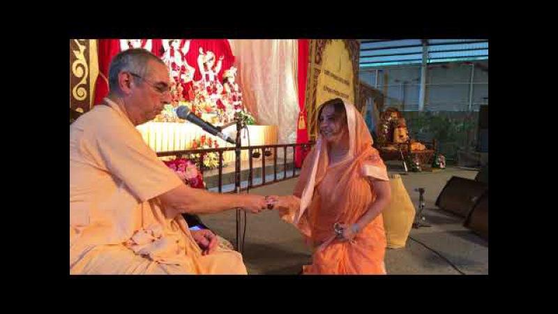 Niranjana Swami – Initiations at Sadhu-sanga, Russia – 16-Sep-2017