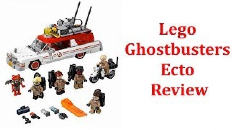 Lego Ghostbusters Ecto 1 2 75828 - LEGO Ghostbusters Ecto-1 2 75828 Building Kit Review