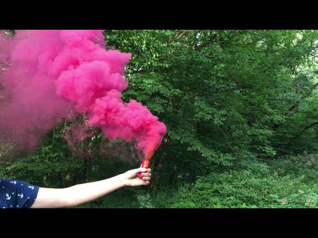Цветной дым Триплекс для фото купить
