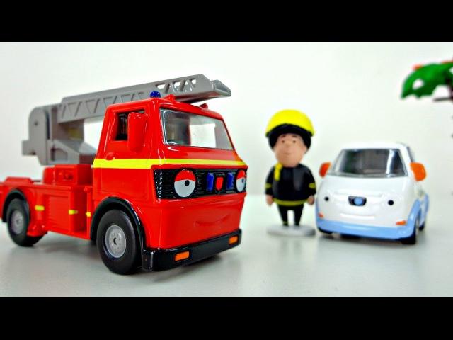 Весёлый грузовичок Олли и друзья тушат пожар. Развивающее видео для детей от 2 лет