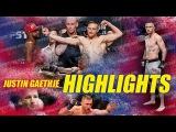 ДЖАСТИН ГАЕТЖ - НОВАЯ ЗВЕЗДА UFC\\JUSTIN HIGHLIGHT GAETHJE 2018