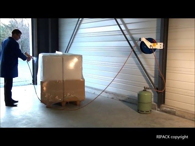 Ripack: настенный удлинитель газового шланга