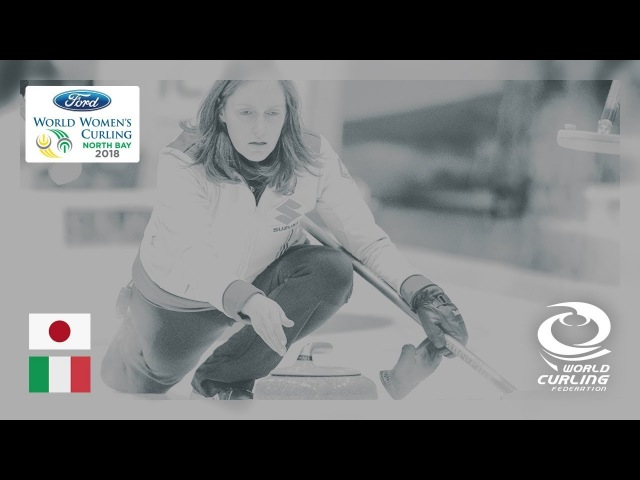 Japan v Italy - Round-robin - Ford World Women's Curling Championships 2018