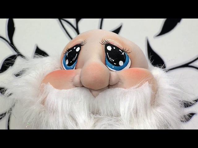 Como Hacer Facciones para Rostro de Papa Noel- HomeArtTv por Juan Gonzalo Angel
