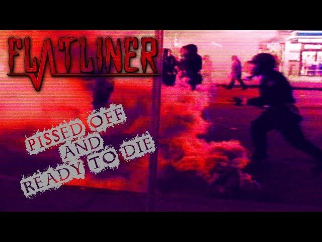 F̰̓L͓̒Ă͙Ṱ͊L̩̈́I̎ͅN͎͂E̳̊R͚͘ -「Pissed Off And Ready To Die」 [Official Music Video]