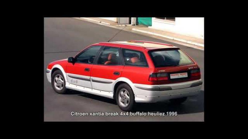 Citroen xantia break 4x4 buffalo heuliez 1996 Prototype Car