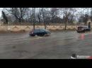 Дождь в середине января затопил Французский бульвар в Одессе. 18.01.2018