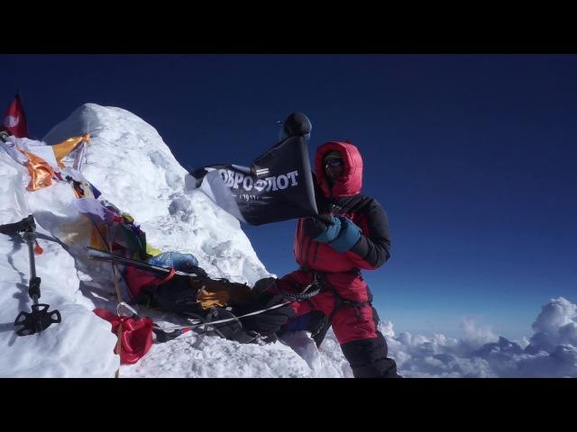 Freeride in death zone 8000 m Фрирайд в зоне смерти 8000 м 2017
