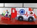 Детское видео про машинки для детей Скорая помощь Imaginext Игрушки для мальчиков
