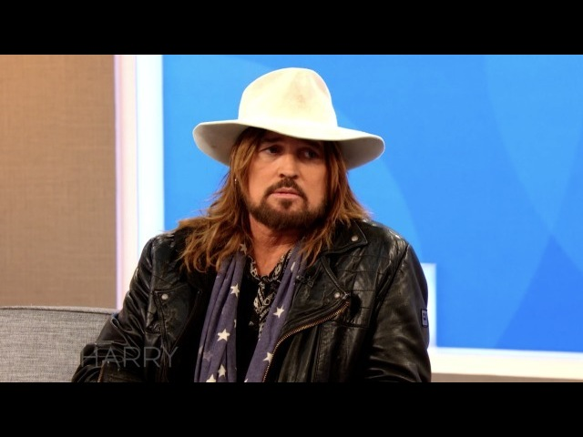 """Harry Connick Jr on Instagram """"@BillyRayCyrus discusses faith and applauds Harry for highlighting it on his show. HarryTV"""""""