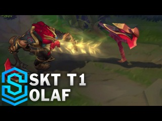 SKT T1 Olaf Skin Spotlight - Pre-Release - League of Legends