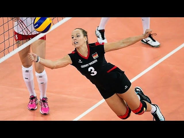 Denise Hanke Amazing Volleyball SETTER BEST Spikes by SETTER TOP SETS DUMP EUROVOLLEY 2017