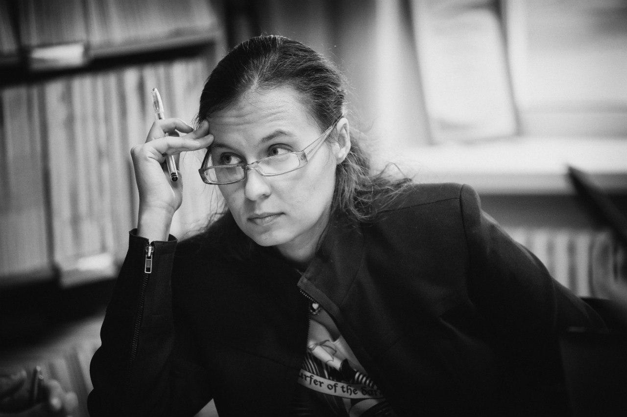 Творческая встреча с Еленой Щетининой (Омск), победителем грантового конкурса Арткоммуналка'17