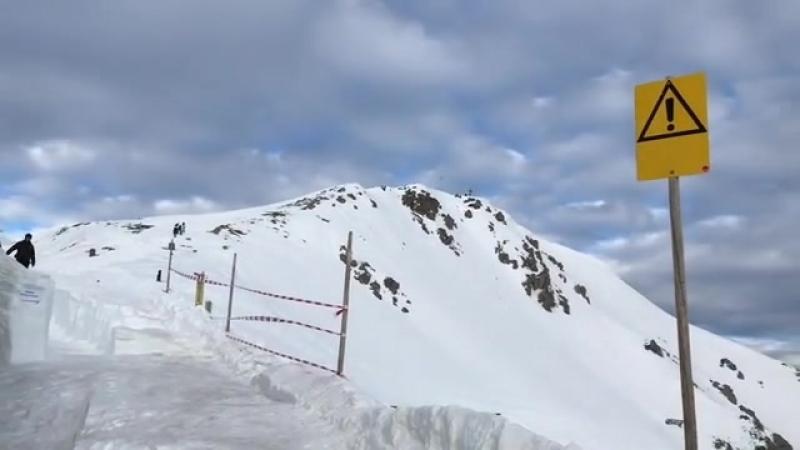 Домашний склон Инсбрука (Австрия)