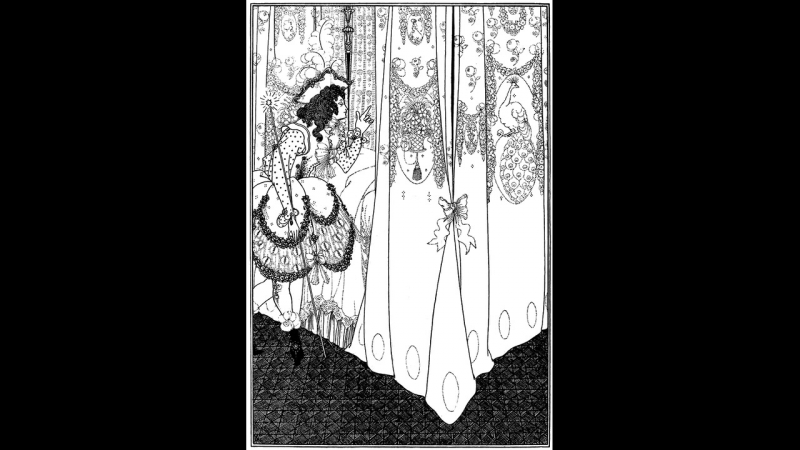 Jean-Philippe Rameau (1683 - 1764) - Tendre Amour - Les Indes Galantes (1735) - paintings of Aubrey Beardsley (1872-1898)