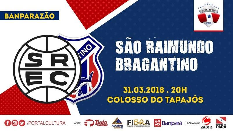 Banparazão 2018 - 3º Lugar - São Raimundo x Bragantino - AO VIVO