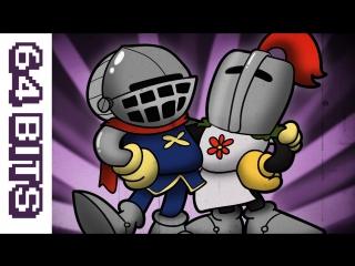 64 Bits - Cupsouls (Dark Souls animated like Cuphead)