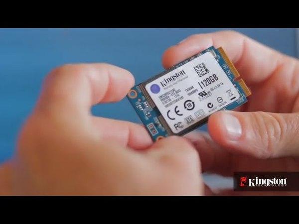 Пошаговая видеоинструкция по установке накопителя mSATA Kingston SSDnow mS200 в ноутбук.