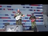 Вячеслав Попов,Олег Река и Голубые Береты(Парк Горького,День ВДВ) 2017