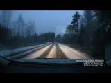 (1080 HD) Не доброе утро.  На повороте ушел прямо. Лежит на крыши. Не спешите на поворотах.