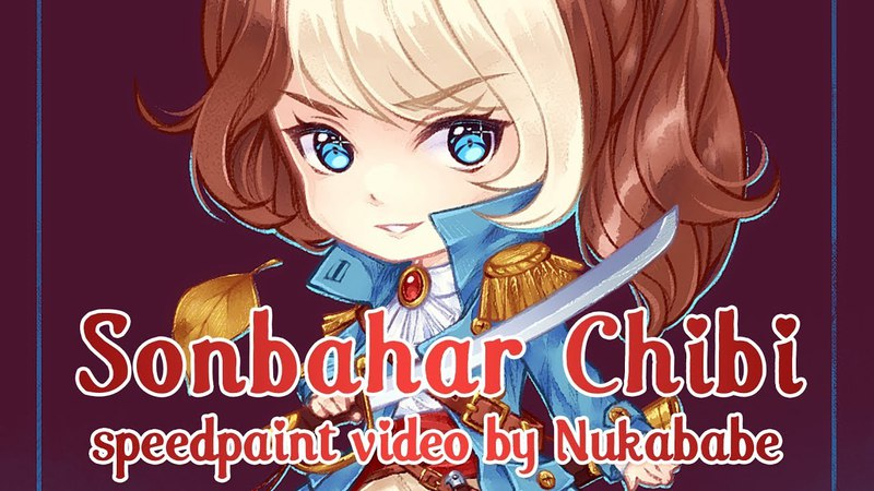 Sonbahar Chibi [Paint Tool SAI] Speedpaint by Nukababe [Patreon Learning Pack 14]