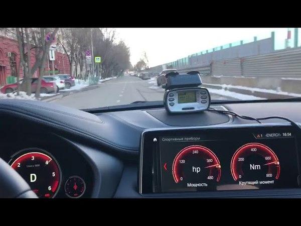 BMW X6 F16 40d Acceleration 0-100 - K8-Strasse Stage 1